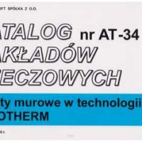 KNR nr AT-34 Roboty murowe w technologii MUROTHERM.